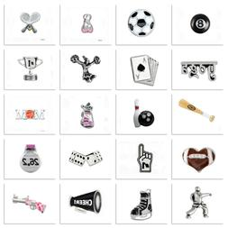 Authentic Origami Owl Charms SPORTS GAMES FITNESS Your Choic