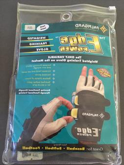 Palmgard Edge Power Variable Weighted Training Glove L Baseb